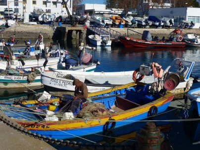 Fishing boat in Olhao