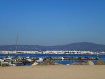 Algarve coast from Formosa islands