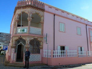 The Pink Police Station - it really is!