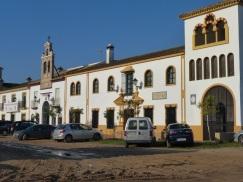 One of the Brotherhood buildings