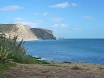 The sea from the promenade