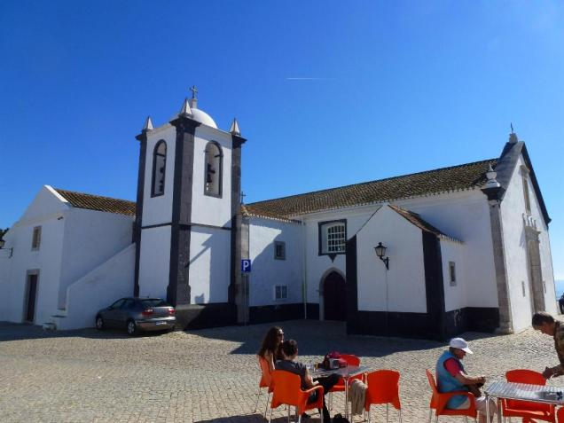 Cacela Velha church and square