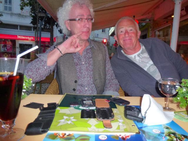 Iain & Rick break many Blackberry's