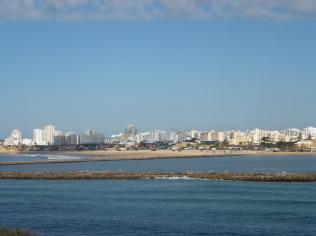 Praia da Rocha from the point