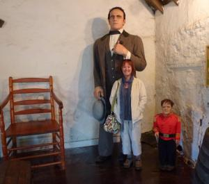Me, The Giant Angus MacAskill and General Tom Thumb