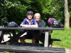 Rest break on the Tissington Trail