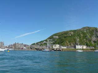 Barmouth from the sea