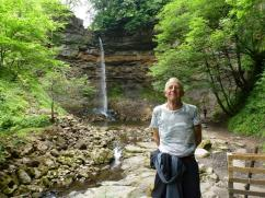 A slight detour to see the Hardraw Force (waterfall), not at its best due to the lack of rain but still worth seeing
