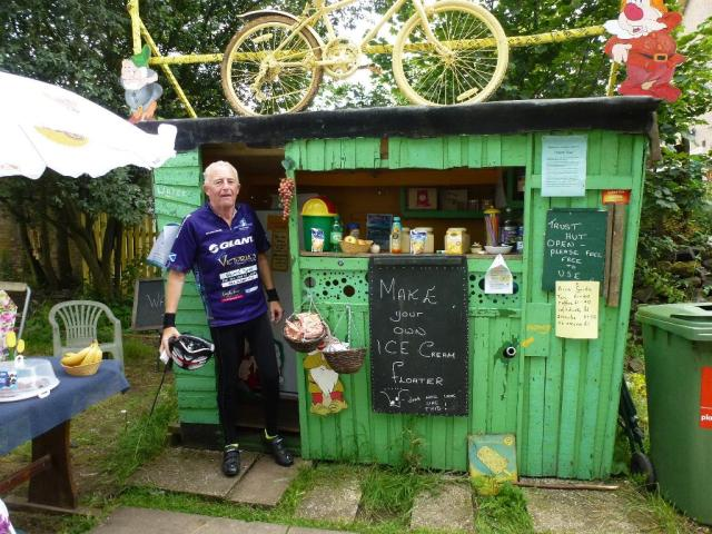 Naburn Station Trust Cafe - on the Selby-York cycleway