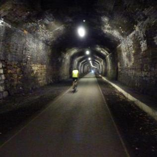 Inside Headstone Tunnel