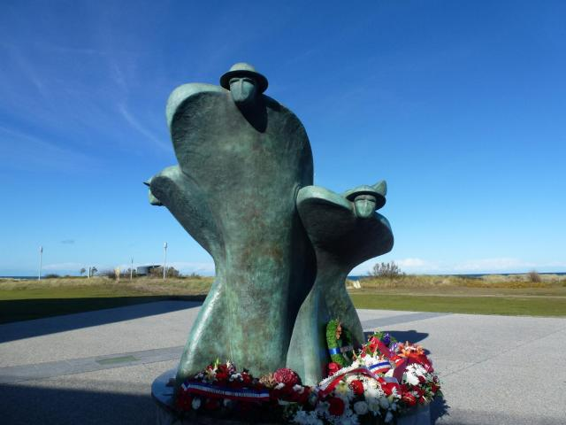 The Canadian Monument at Juno Beach