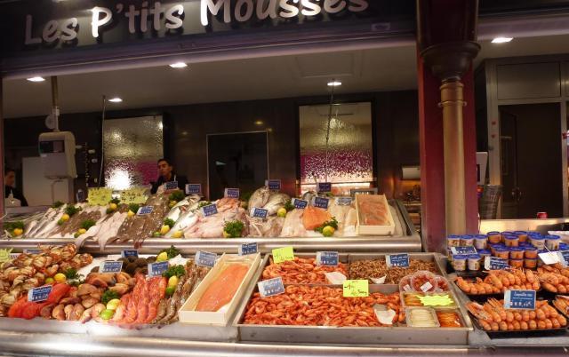 Trouville fish market