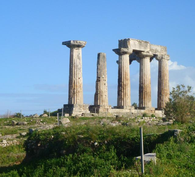 ancient korinth